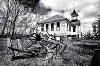 Schoolhouse at Calio, ND